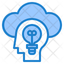 Cloud Computing Idea Icon