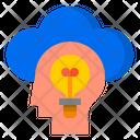 Idea Lightblub Man Icon