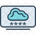 Cloud Computing Login Accessibility Secure Icon