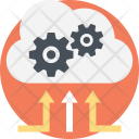 Cloud Computing Management Icon