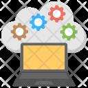 Cloud Computing Management Icon