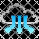 Cloud Computing Network Cloud Computing Cloud Technology Icon