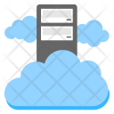 Cloud Server Hosting Icon