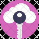Cloud Computing Security Icon