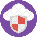 Cloud Computing Security Icon