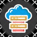 Cloud Computing Server Cloud Server Cloud Server Hosting Icon