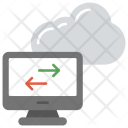 Cloud Computing Information Icon