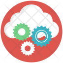 Cloud Gear Management Icon