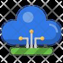 Cloud Comuting Cloud Storage Icon