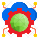 Cloud Config World Config Icon