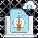 Customization Laptop Configuration Laptop Development Icon
