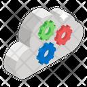 Cloud Technology Cloud Configuration Cloud Options Icon