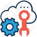 Configuration Settings Cloud Icon