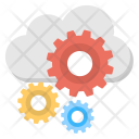 Cloud Setup Configuration Icon