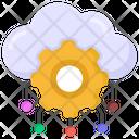 Cloud Settings Cloud Configurations Cloud Network Icon