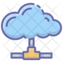 Cloud Connected Cloud Computing Cloud Technology Icon