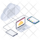 Cloud Connection Cloud Computing Cloud Technology Icon