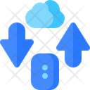 Cloud Network Pc Icon