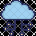 Cloud Cloud Computing Cloud Sharing Icon