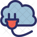 Cloud Connection Cloud Computing Cloud Hosting Icon