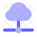 Cloud Connection Cloud Network Connection Icon