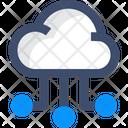 Cloud Networkv Cloud Connection Cloud Network Icon