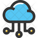 Cloud Networkv Cloud Connection Cloud Network Icon
