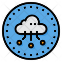 Cloud Server Communication Icon