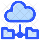 Internet Technology Cloud Connection Cloudcomputing Icon