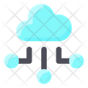 Internet Technology Cloud Connection Cloud Sharing Icon