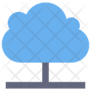 Cloud Technology Network Icon