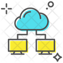 Cloud Connection Cloud Computing Cloud Sharing Icon