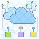 Cloud Network Cloud Technology Cloud Computing Icon