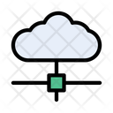 Network Cloud Sharing Icon