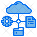 Storage Data Cloud Icon