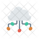 Cloud Connection Databse Icon