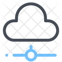 Cloud Network Storage Icon