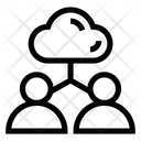 Cloud Connections Icon