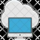 Cloud Connectivity Cloud Network Internet Coverage Icon