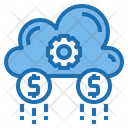 Consumer Cloud System Online Icon