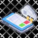 Mobile Cloud Cloud Content Cloud Technology Icon