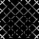 Cloud Graph Graph Oneline Graph Icon
