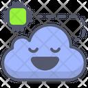 Cloud Cpu Cloud Microchip Icon