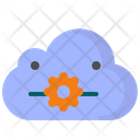 Cloud cpu Icon