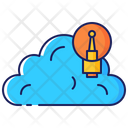 Cloud Creativity Icon