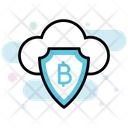 Cryptocurrency Security Bitcoin Security Cloud Cryptocurrency Icon