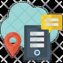 Online Data Cloud Data Data Technology Icon
