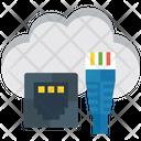 Cloud Technology External Storage Cloud Upload Icon