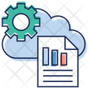 Cloud Computing Cloud Data Cloud Services Icon