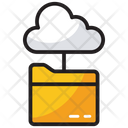 Cloud Network Information Network Cloud Data Icon